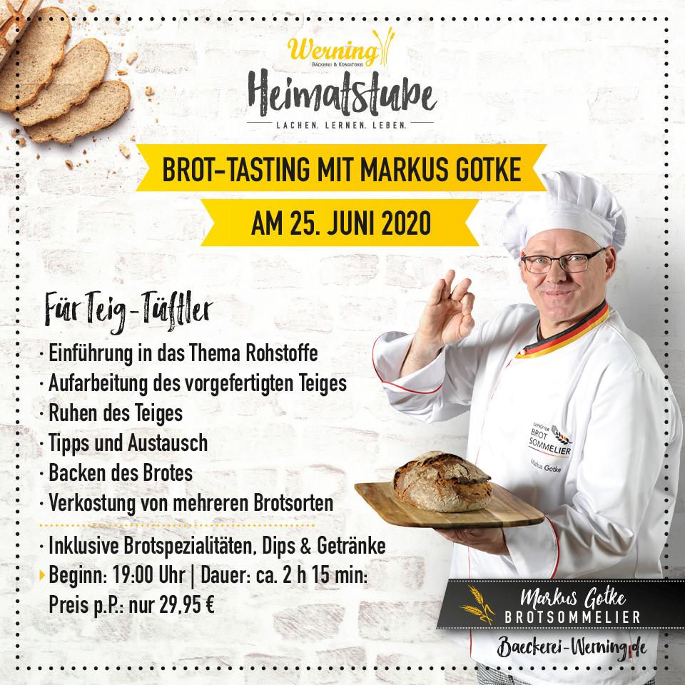 Brot-Tasting